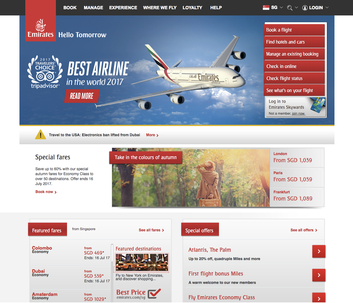 Singapore Emirates