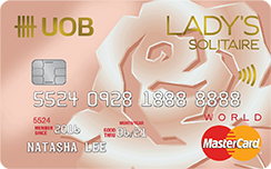 UOB Lady's Solitaire Card Promos