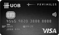 UOB PRVI Miles VISA Card Promos