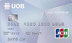 UOB JCB Card Promos