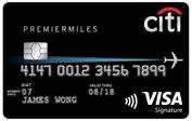Citibank Citi PremierMiles Visa Promos