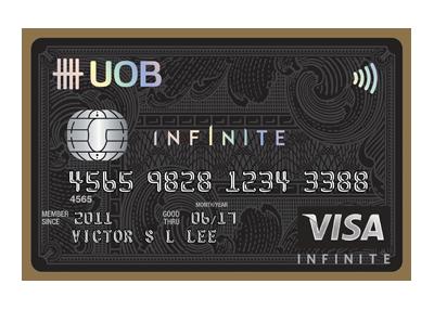 UOB Visa Infinite Card