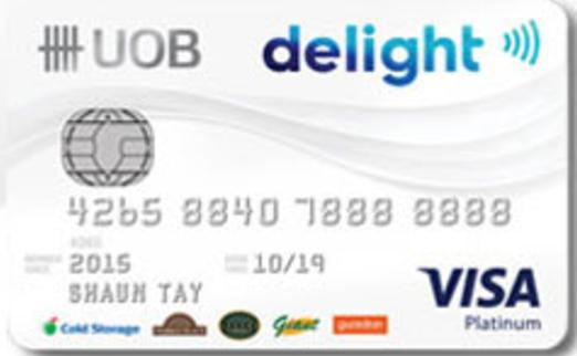 UOB Delight Credit Card Promos