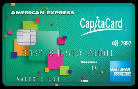 American Express CapitaCard Promos