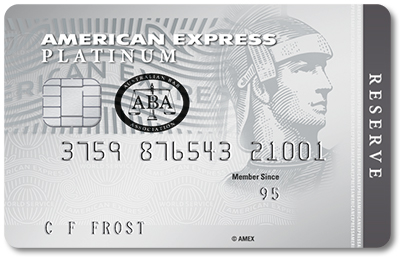 American Express Platinum Reserve Card Promos