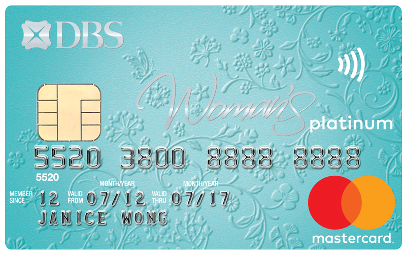 DBS Woman's Card