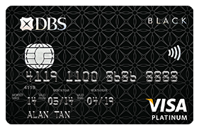DBS Black Visa Card