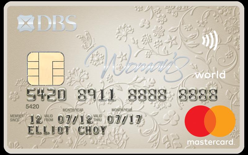 DBS Woman's World Card