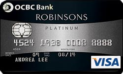 OCBC Robinson Group Promos