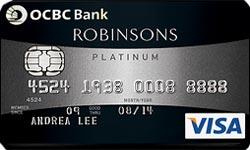OCBC Robinson Group Promos