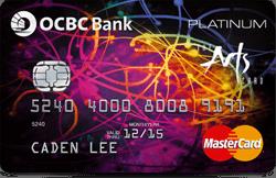 OCBC Arts Platinum MasterCard Promos