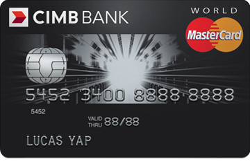 CIMB World MasterCard Promos