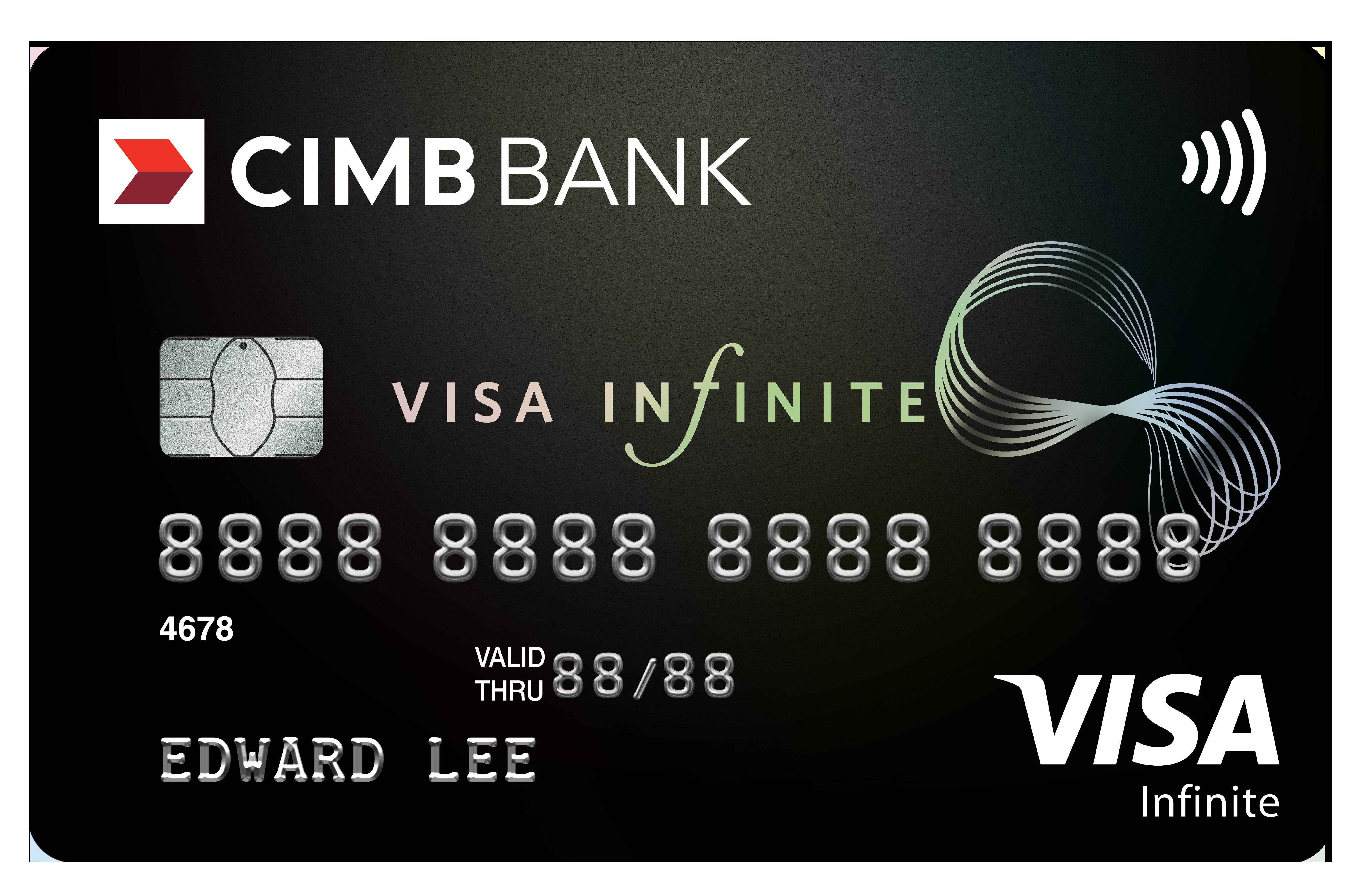 CIMB Visa Infinite Promos