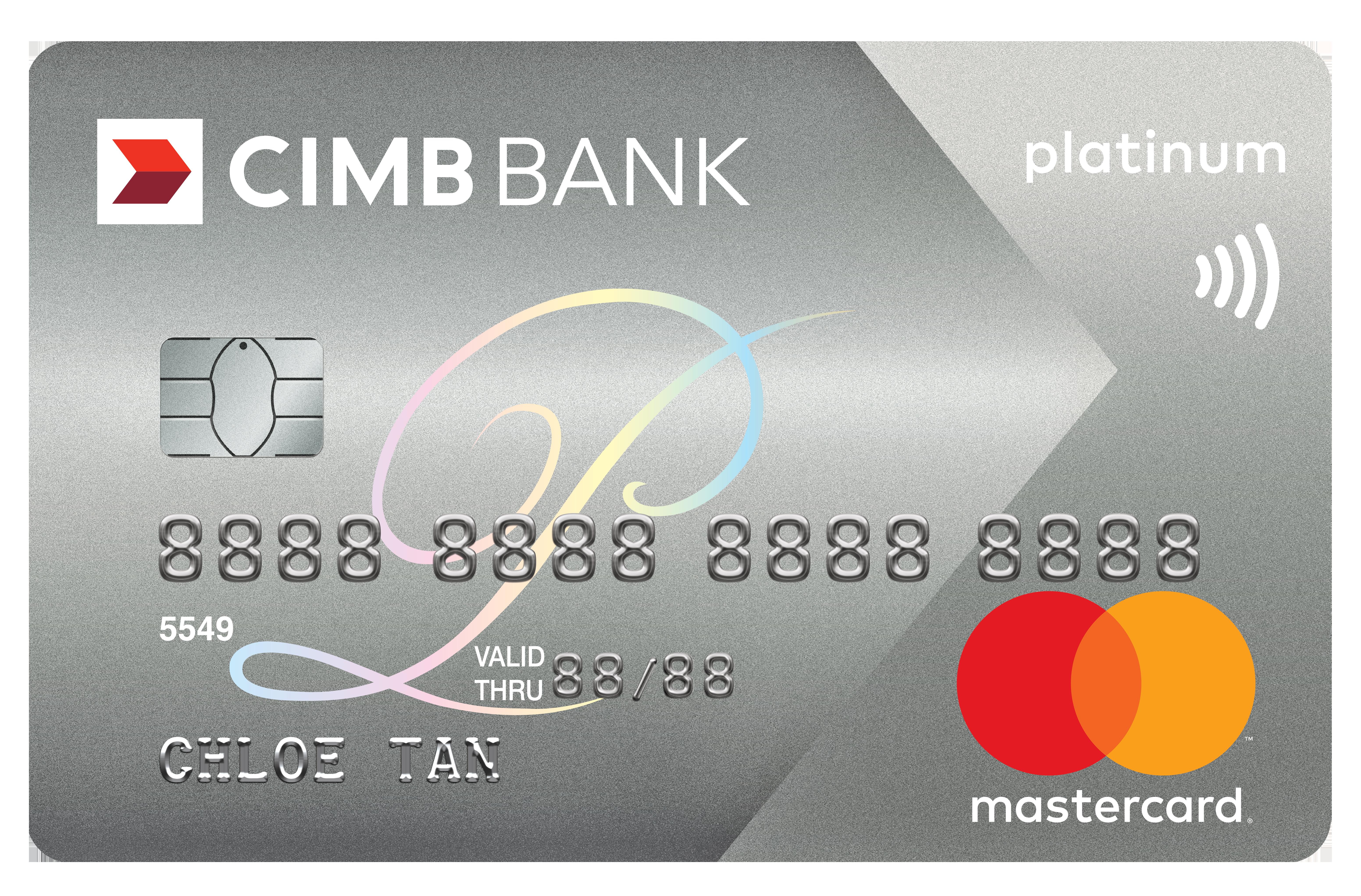 CIMB Platinum Mastercard Promos
