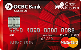 OCBC Great Eastern Cashflo Card