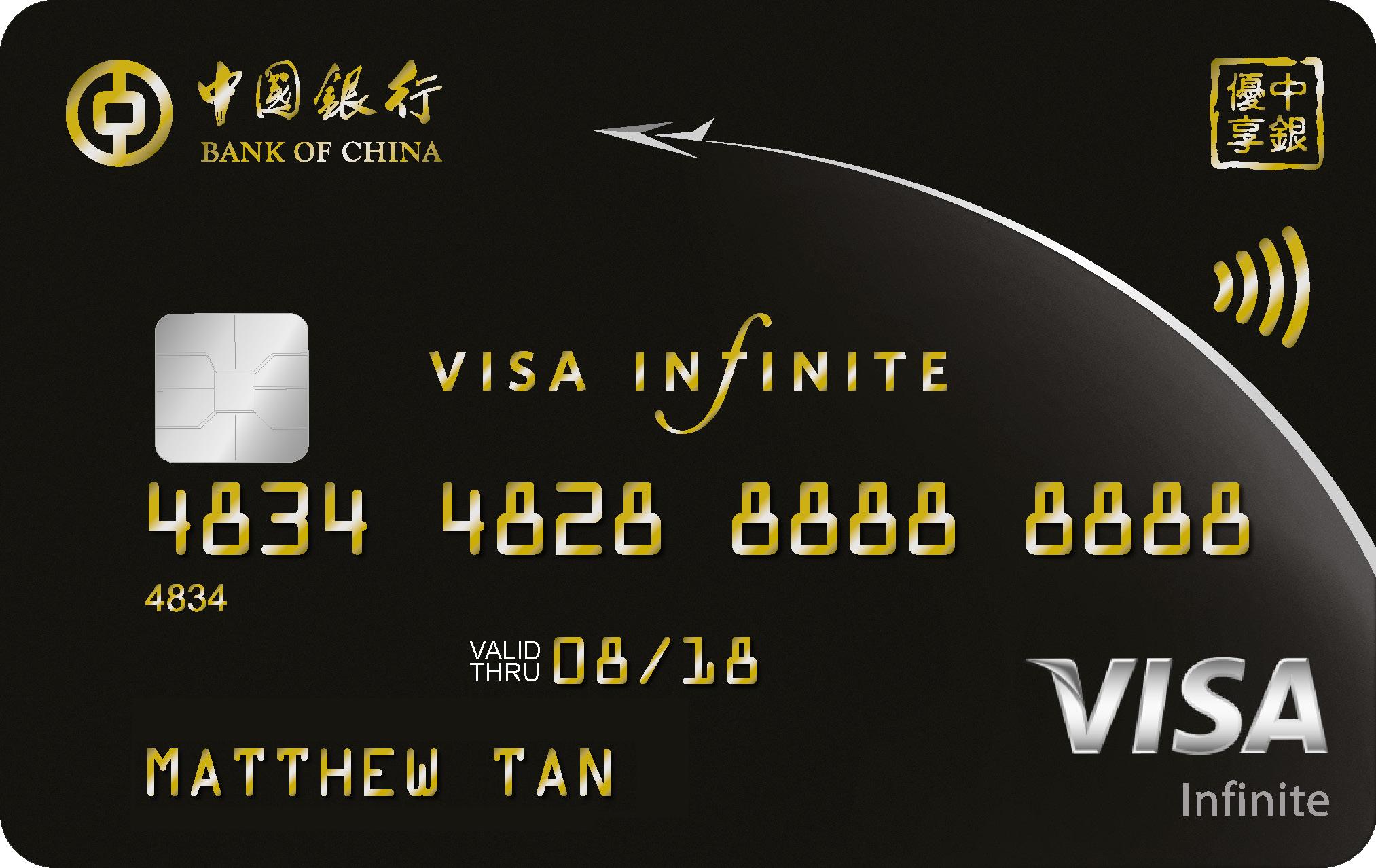 BOC Visa Infinite Promos