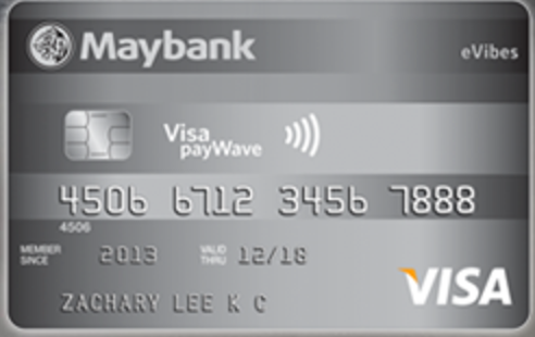 Maybank eVibes Card Promos