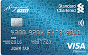 Standard Chartered Spree Card Promos