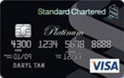 Standard Chartered Platinum Visa Promos