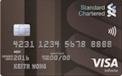 Standard Chartered Visa Infinite Promos