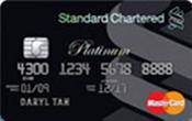 Standard Chartered Platinum MasterCard Promos