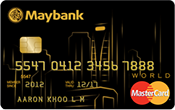 Maybank World Mastercard Promos