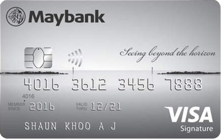 Maybank Horizon Visa Signature Card Promos