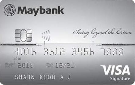 Maybank Horizon Visa Signature Card Promos