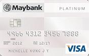Maybank Platinum Visa Promos