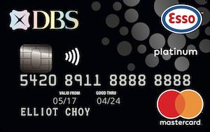 DBS Esso Card Promos