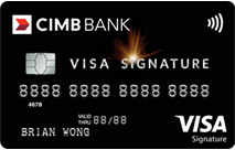 CIMB Visa Signature Promos