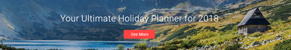 Booking.com Holiday Planner 2018