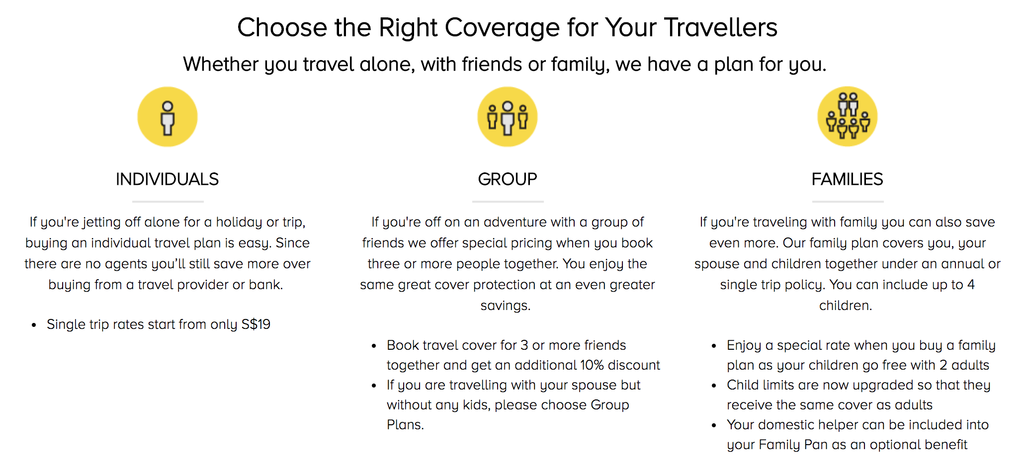 DirectAsia Travel Insurance Packages