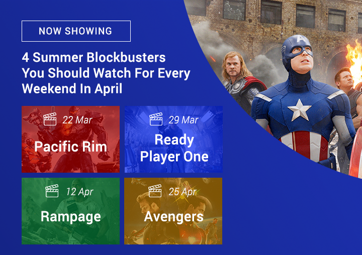 4 Summer Blockbusters You Should Watch In April