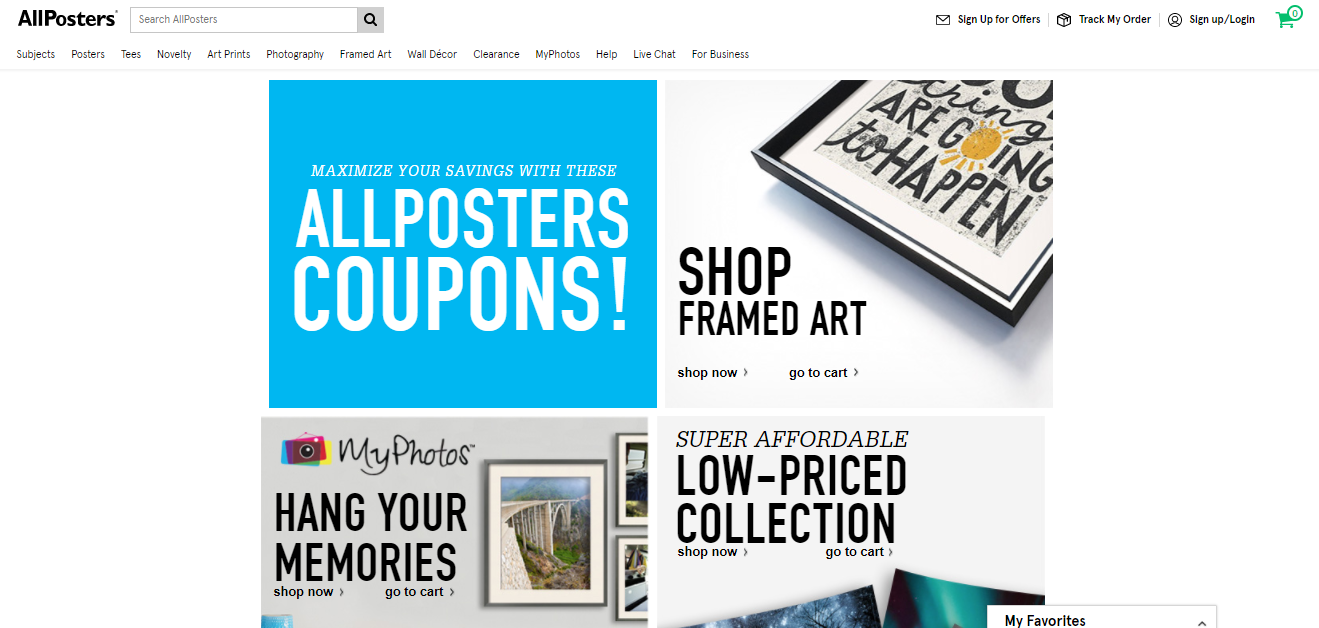 Allposters.com Coupons & Promos