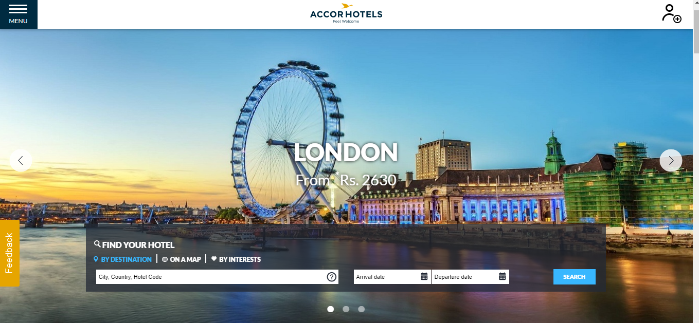 How to use AccorHotels.com