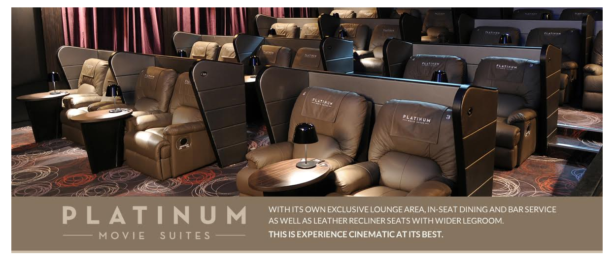 Cathay Cineplexes Platinum Movie Suites