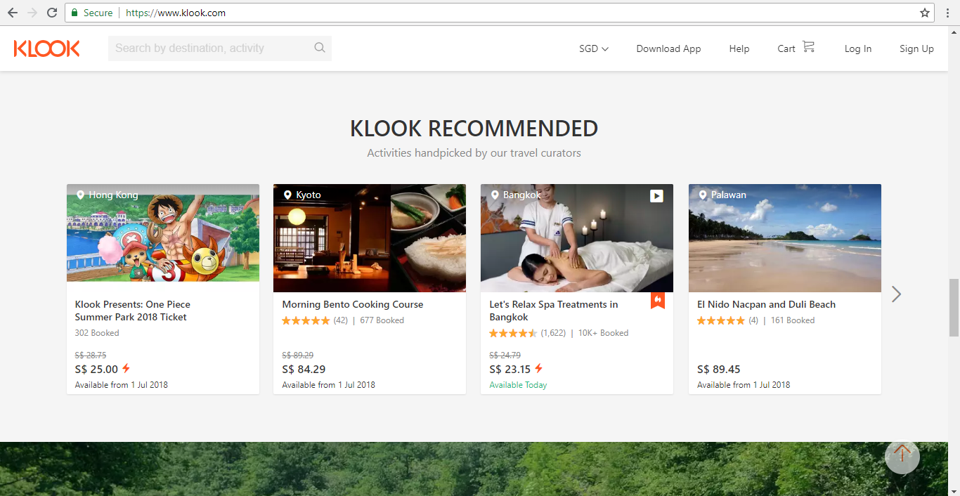 Klook Recommended