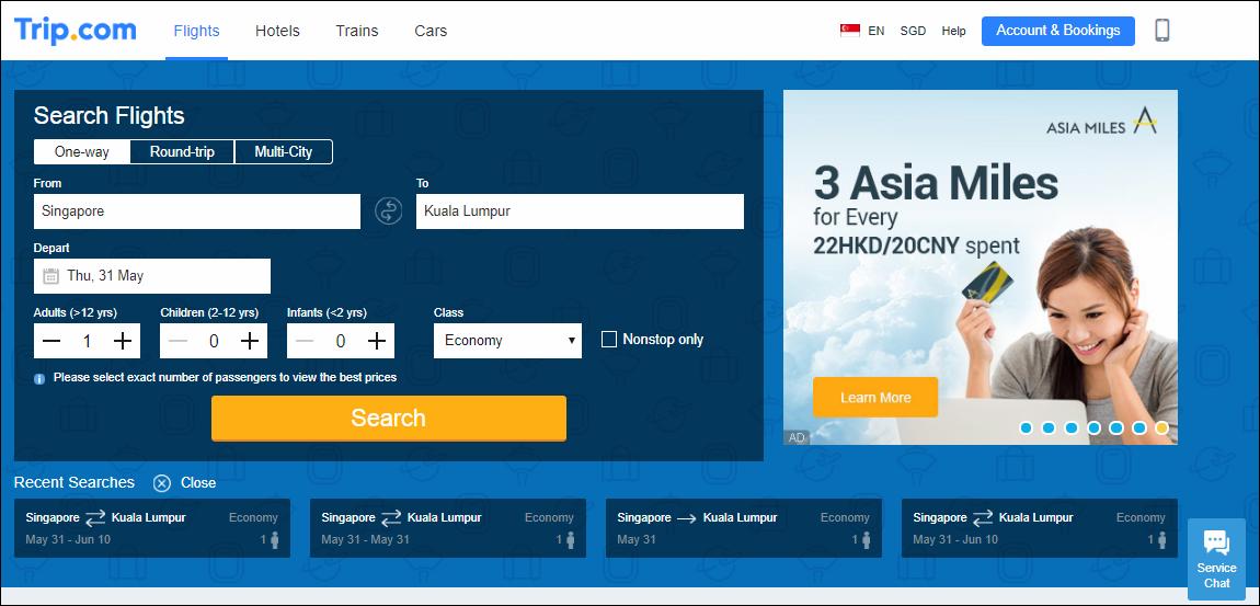 Trip.com Flights