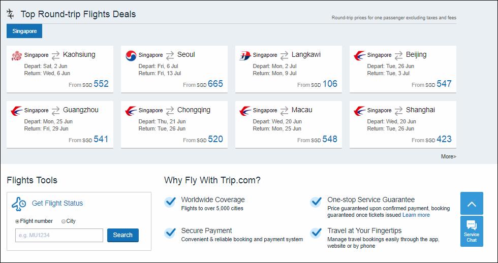 Trip.com Flight Deals