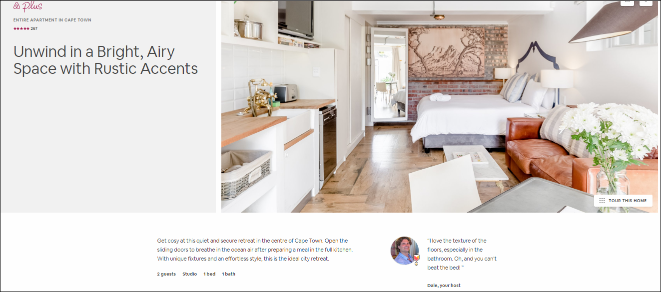 Airbnb Home Descriptions