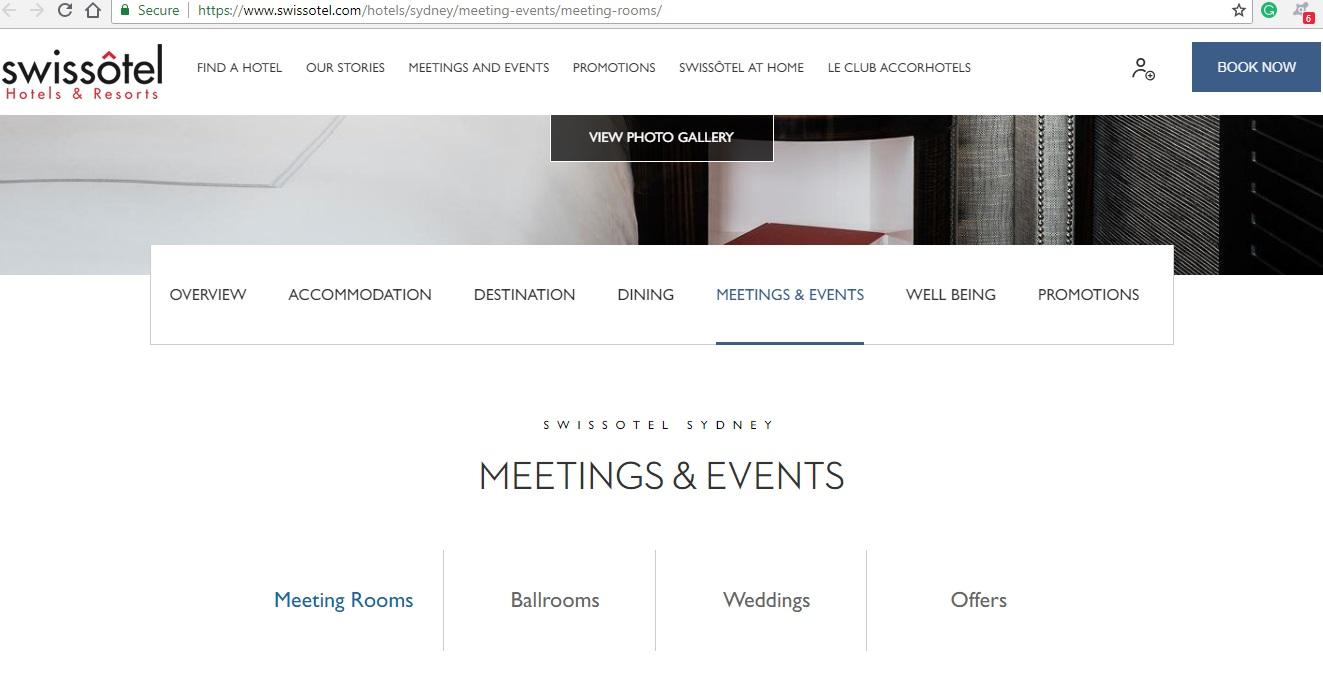 Swissotel Meetings & Events