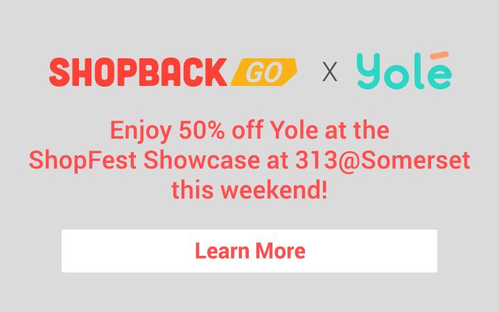ShopBack GO X Yole