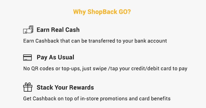 Why ShopBack GO?