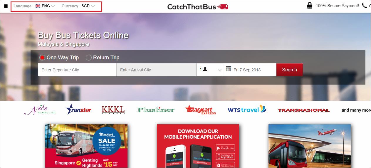 Catchthatbus Bus Ticket