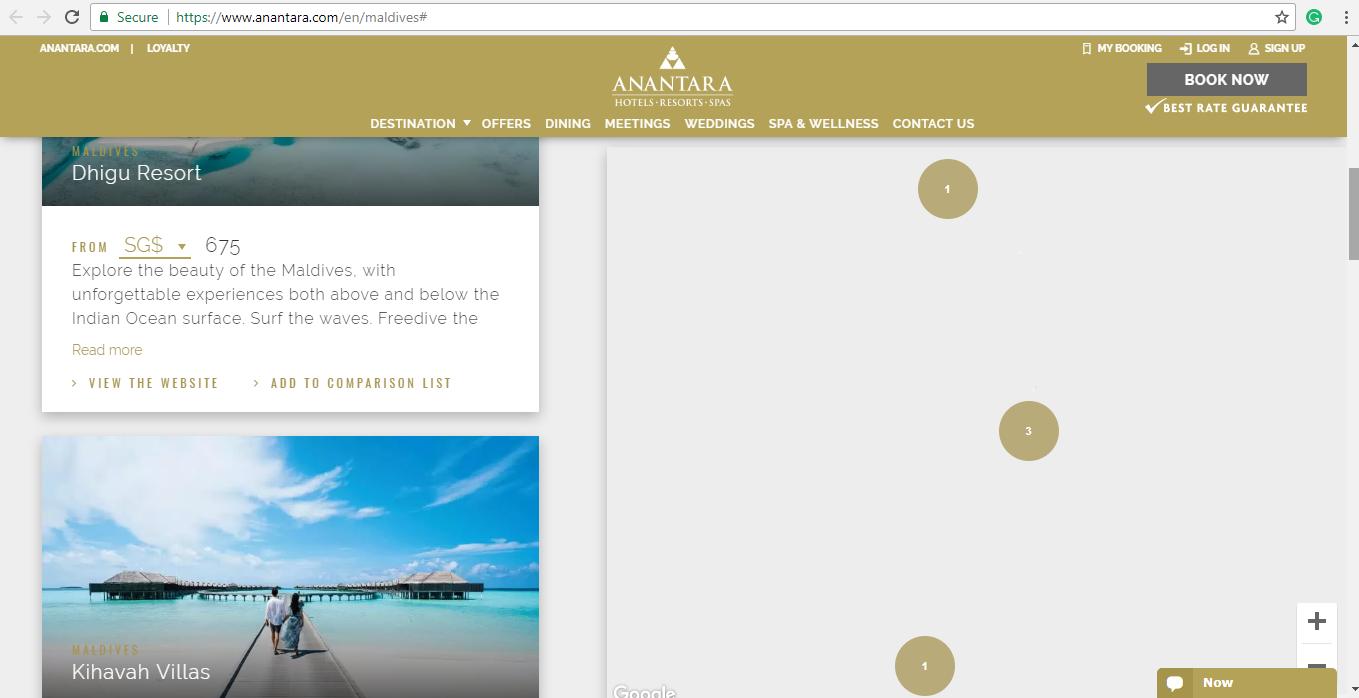 Anantara Booking