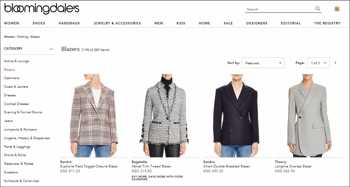Bloomingdale's Women Clothing