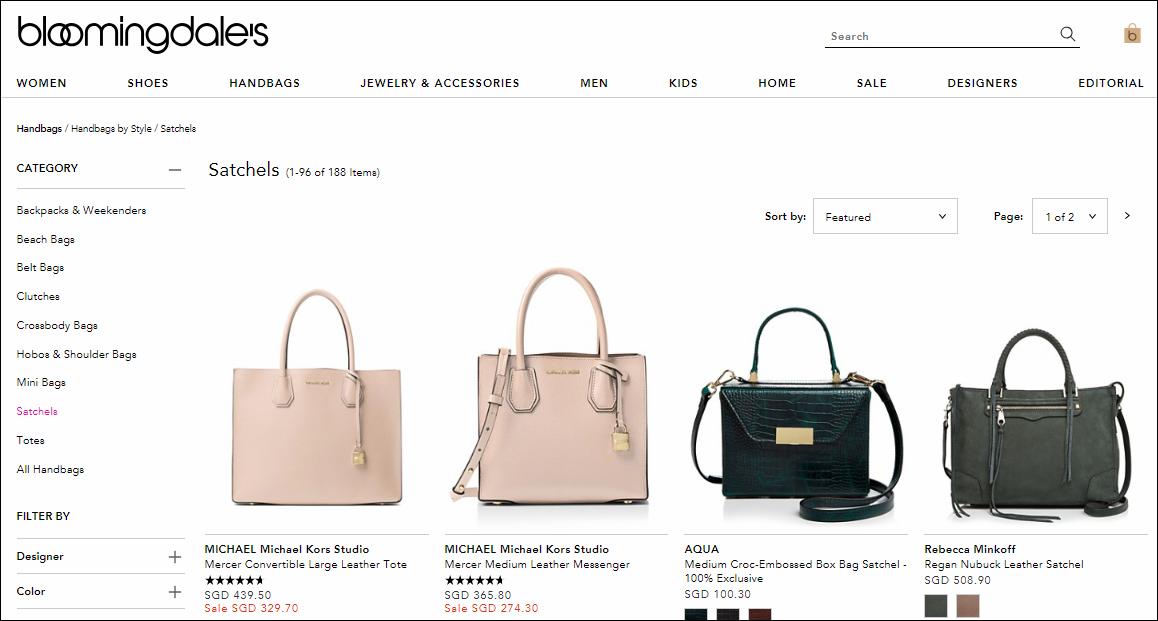 Bloomingdale's Handbags
