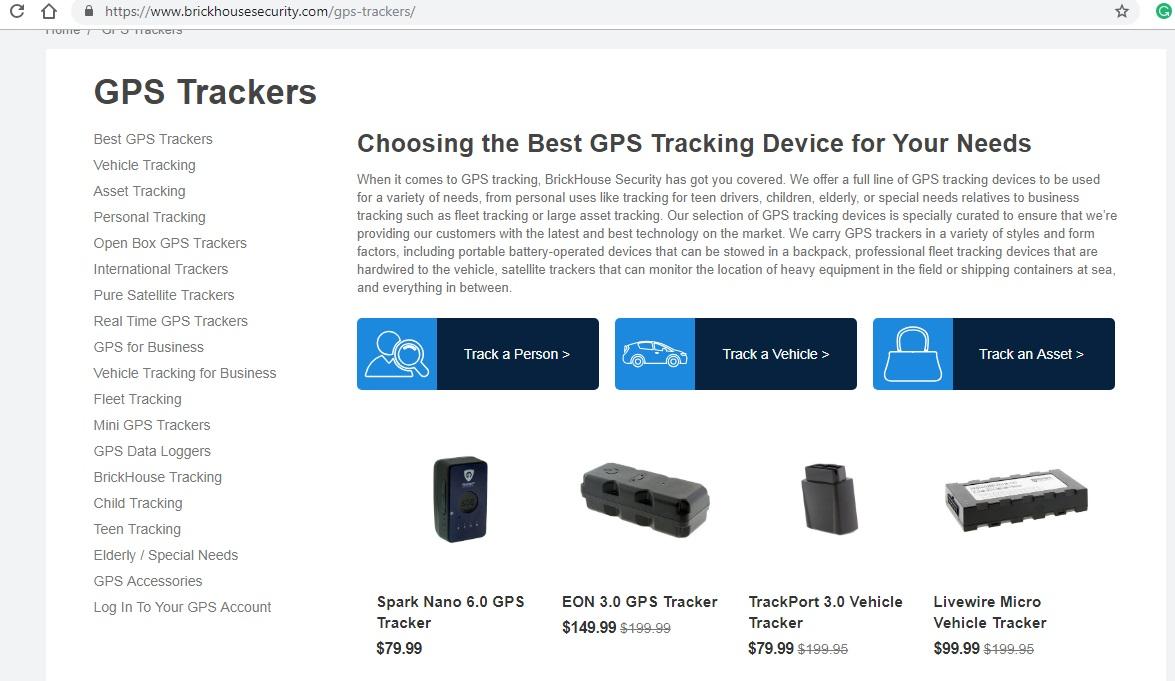 Brickhouse GPS