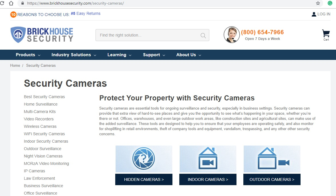Brickhouse Security Camera